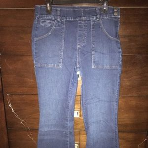 Vintage high waist bell bottom jeans